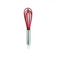 Trzepaczka silikonowa skręcana 25,5 cm Cuisipro czerwona