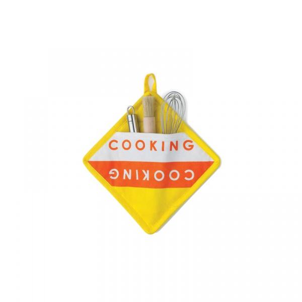 Uchwyt do gorących naczyń Cooking Kela Madlene żółty KE-11323