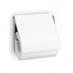 Uchwyt na papier toaletowy Brabantia biały