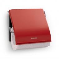 Uchwyt na papier toaletowy Classic Brabantia czerwony