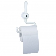 Uchwyt na papier toaletowy Koziol Toq biały