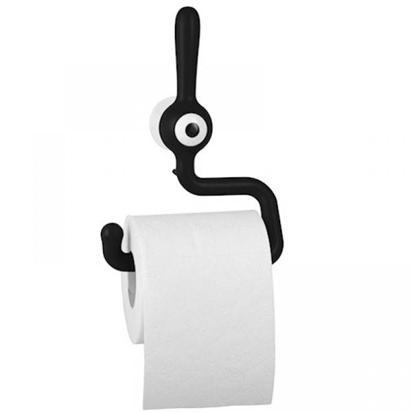 Uchwyt na papier toaletowy Koziol TOQ czarny KZ-5234526
