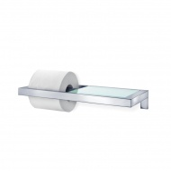Uchwyt na papier toaletowy z półką Blomus Menoto matowy