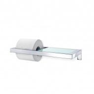 Uchwyt na papier toaletowy z półką Blomus Menoto polerowany