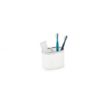 UMBRA - Stojak na szczoteczki, chrom biały, JUNIP