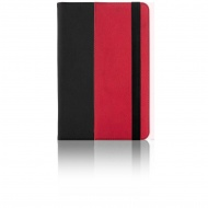 "Universal color case 7-8"" black/red"