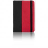 "Universal color case 9"" black/red"