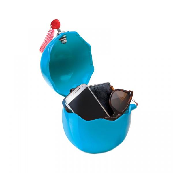 Uniwersalny pojemnik na drobiazgi GuscioBox niebieski 8006023220106