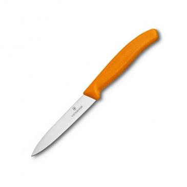 VICTORINOX - Nóż do warzyw i owoców 10 cm - pomarańczowy