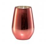 Vina Shine szklanka różowa 397 ml (6 szt)