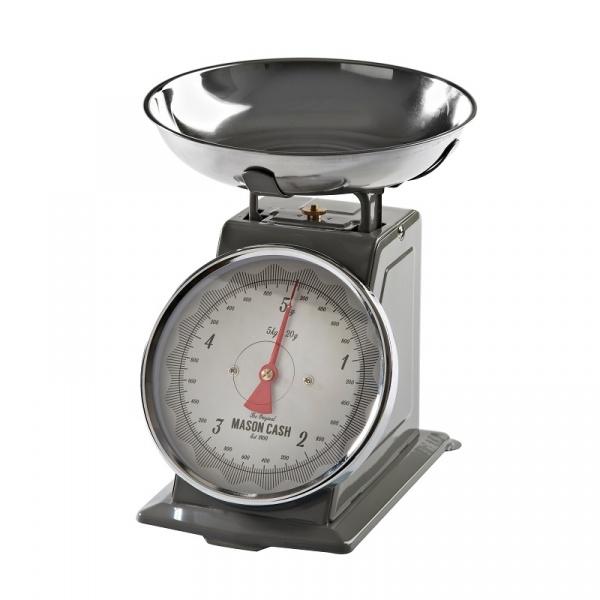 Waga kuchenna max.5kg Mason Cash Baker Lane srebrno-szara 2001.603