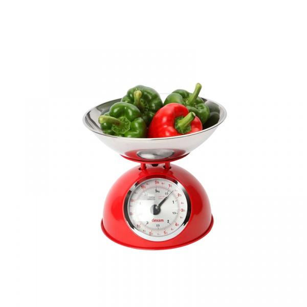 Waga kuchenna z miską 2 l Swift czerwona DX-17848105