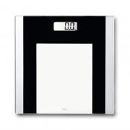 Waga łazienkowa 30x30cm ADE czarno-biała