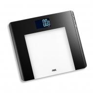 waga łazienkowa obliczająca BMI, do 180 kg, 33 x 30 cm, czarna