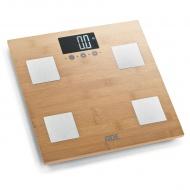 Waga z analizą masy ciała 30x30cm ADE bambusowa