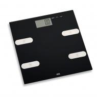 Waga z analizą masy ciała 30x30cm ADE czarna