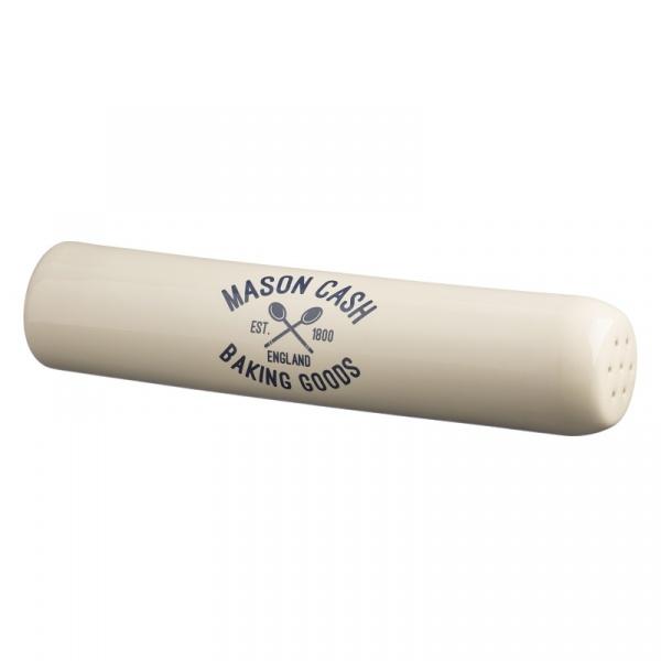 Wałek do ciasta 3w1 6x30cm Mason Cash Varsity biały 2001.663