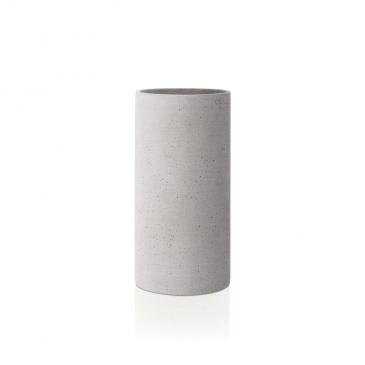 Wazon 24 cm Blomus Coluna jasnoszary