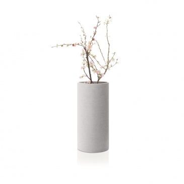 Wazon 29 cm Blomus Coluna jasnoszary