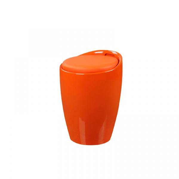 Wielofunkcyjna pufa King Bath Tubo pomarańczowa LI-KK-705B.POMARANCZOWY