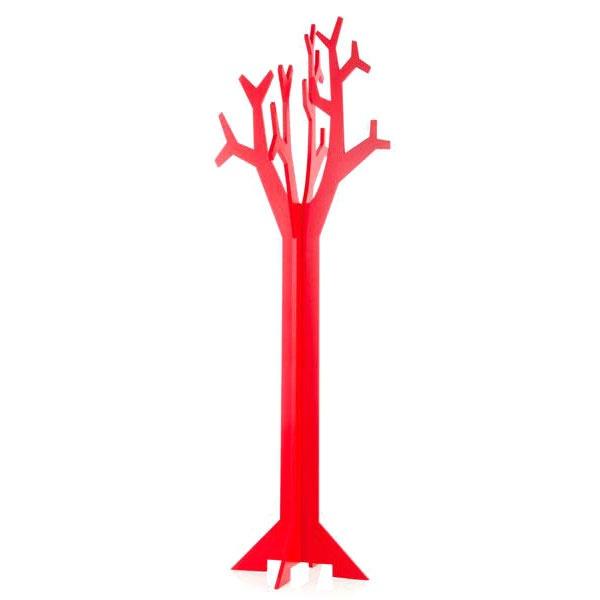 Wieszak do przedpokoju Brandani Appendiabiti Corallo czerwony 55226