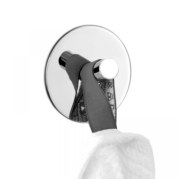 Wieszak łazienkowy okrągły Zack Duplo ZACK-40072