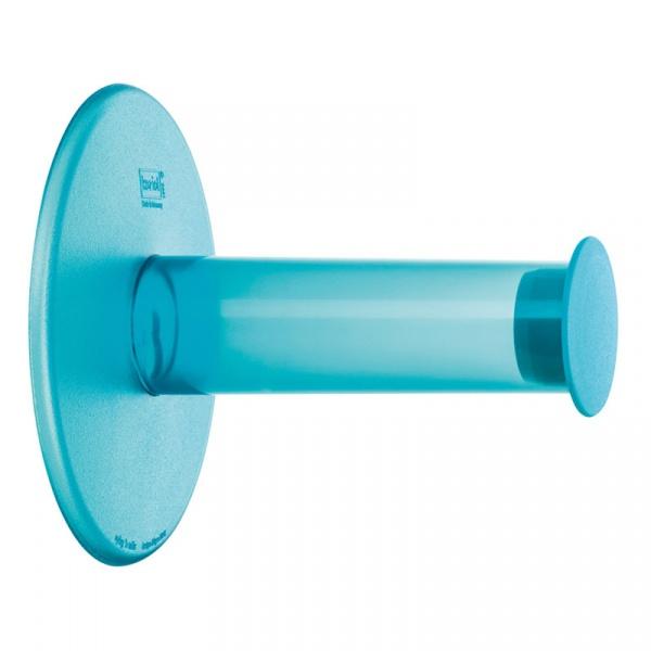 Wieszak na papier toaletowy Koziol Plug'n Roll niebieski KZ-5235598