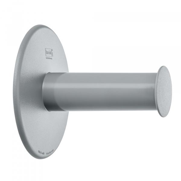 Wieszak na papier toaletowy Koziol Plug'N Roll szary KZ-5235632