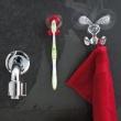 Wieszak na ręcznik Koziol Bunny transparentny KZ-5650535