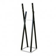 Wieszak stojący 172cm Moika Combo czarny/biały