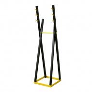 Wieszak stojący 172cm Moika Combo czarny/żółty