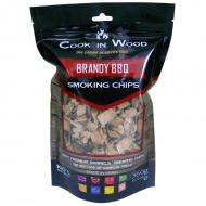 Wiórki wędzarnicze 0,36kg Cook in wood Brandy brązowe