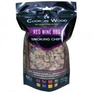 Wiórki wędzarnicze 0,36kg Cook in wood Czerwone wino brązowe