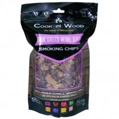 Wiórki wędzarnicze 0,36kg Cook in wood Grys dębowy brązowe
