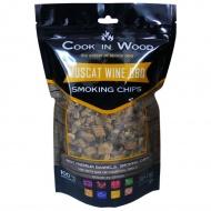 Wiórki wędzarnicze 0,36kg Cook in wood Muscat brązowe