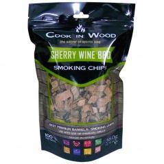 Wiórki wędzarnicze 0,36kg Cook in wood Sherry brązowe