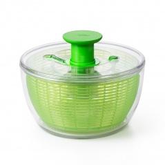 Wirówka do sałaty zielona 6,2L OXO Good Grips przezroczysta