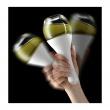 WMF - Shaker do dressingów, biały, Batido 0647751040