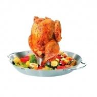 Wok grillowy do kurczaka 31cm Gefu