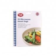 Woreczki do gotowania na parze w kuchence mikrofalowej 25 szt. Tala