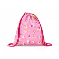 Worek mysac kids abc friends pink