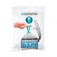 Worki na śmieci 5l Brabantia PerfectFit Bags białe