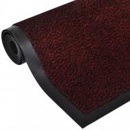 Wycieraczka pod drzwi prostokątna 90 x 60 cm czerwona