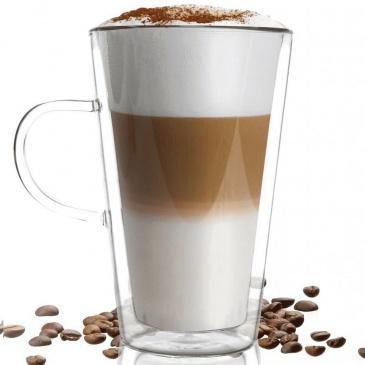 szklanka termiczna do latte wysoka 320ml