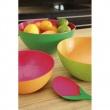 Zak! - Sztućce do sałaty, zielono- grejpfrutowe 2256-0422