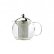 Zaparzacz do herbaty 0,7 l Zest for Life PRINCE srebrno/przezroczysty
