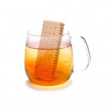 Zaparzacz do herbaty 10,4cm Monkey Business Biskviti beżowy