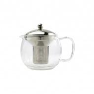 Zaparzacz do herbaty 1,2 l Zest for Life PRINCE srebrno/przezroczysty