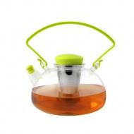 Zaparzacz do herbaty Amo zielony 1000 ml 23734