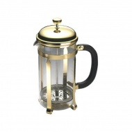 Zaparzacz do kawy 0,8l Grunwerg French Press Classic Gold złoty